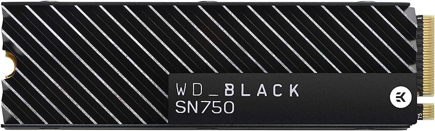 WD Black SN750 - SSD interne NVMe hautes performances pour le gaming...