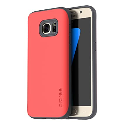 Amazon.com: Galaxy S7 Carcasa, araree [Amy] doble capa ...