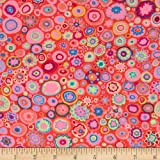 Kaffe Fassett Collective Volcano Paperweight Pink Fabric By The Yard