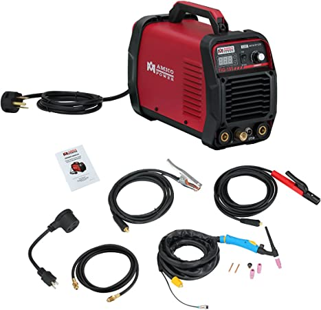 TIG-185 180 Amp High-Frequency Start TIG Torch Stick DC Welder 115//230V Welding