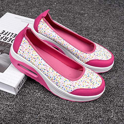 Shoes colore Rocker Donna Eu Sole Bianca Casaul Bianca 40 Dimensione Fuxitoggo Suola 6YXfwqgw