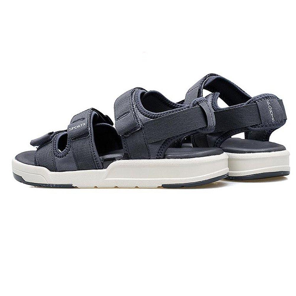 Sunny Sandalias Hombres Paño Temporada De Verano Exterior Antideslizante Cinco Colores Zapatos De Playa EU40/UK7|Gray