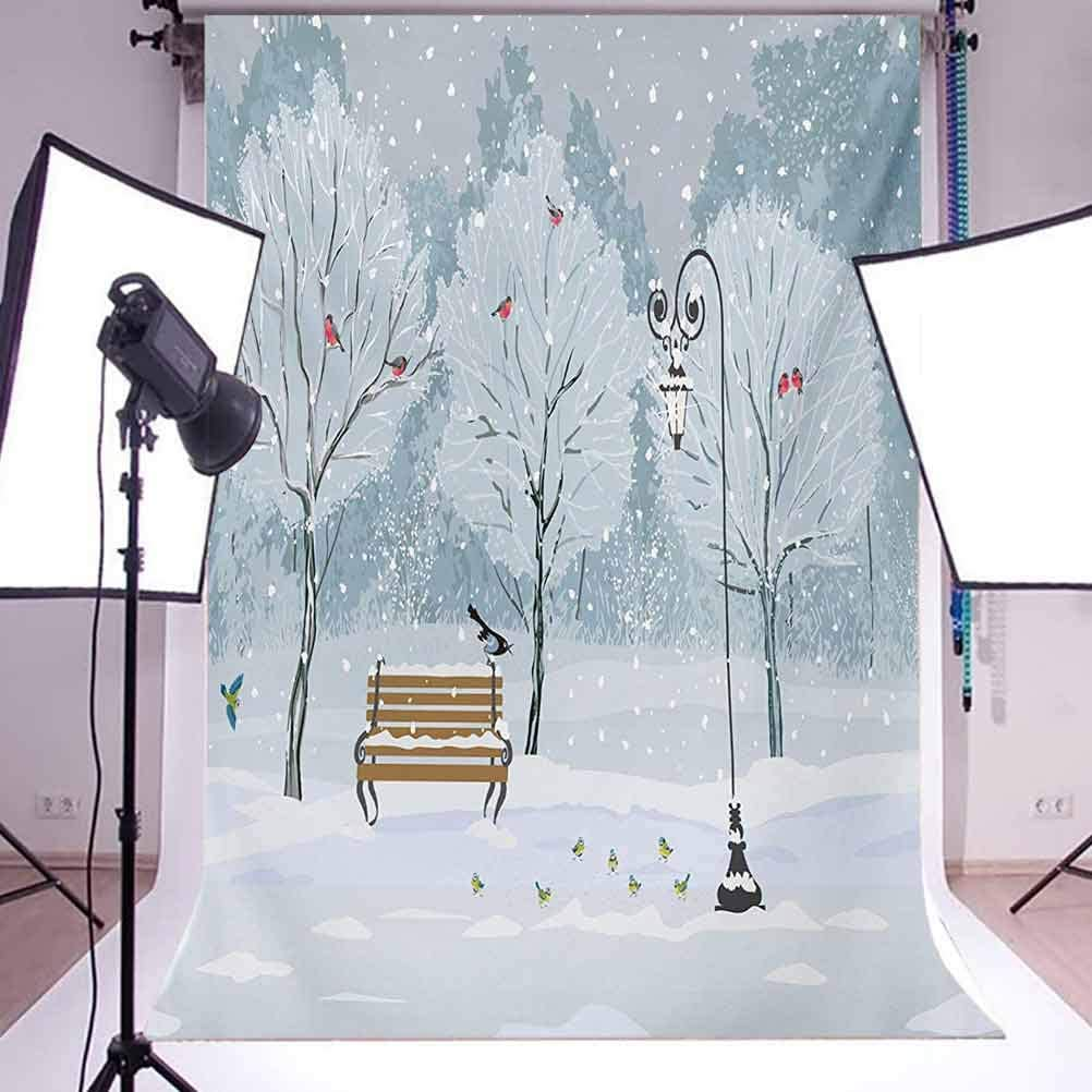 8x10 FT Backdrop Photographers,Sakura Branches Hangs Down from Tree Branch Dramatic Night Oriental Plant Image Art Background for Photography Kids Adult Photo Booth Video Shoot Vinyl Studio Props