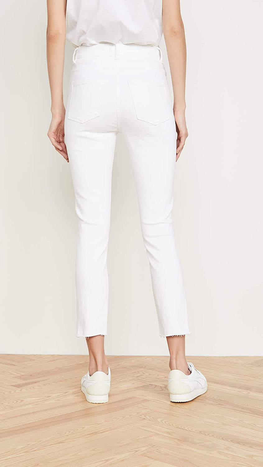 DL1961 Womens Farrow Cropped Vintage High Rise Skinny Jeans