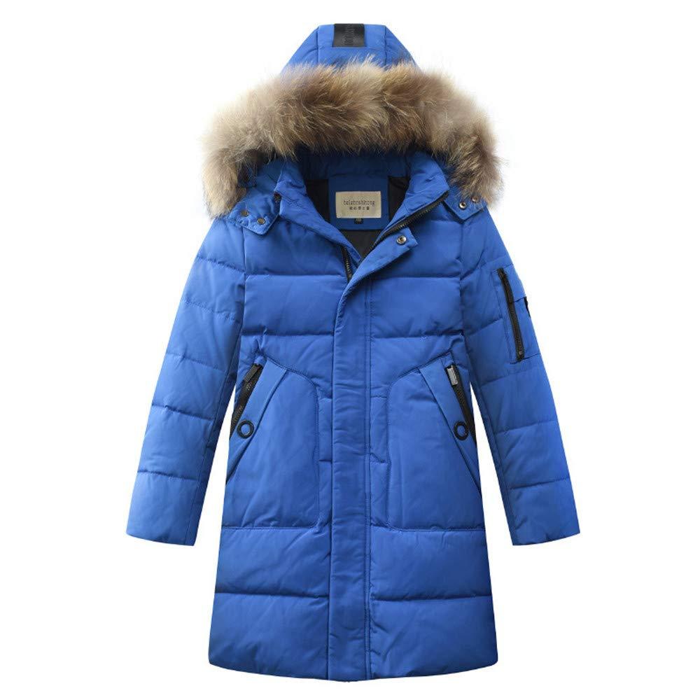 Beyond_AV Kids Boys Winter Jacket Hooded Down Jacket Winter Coat Outerwear