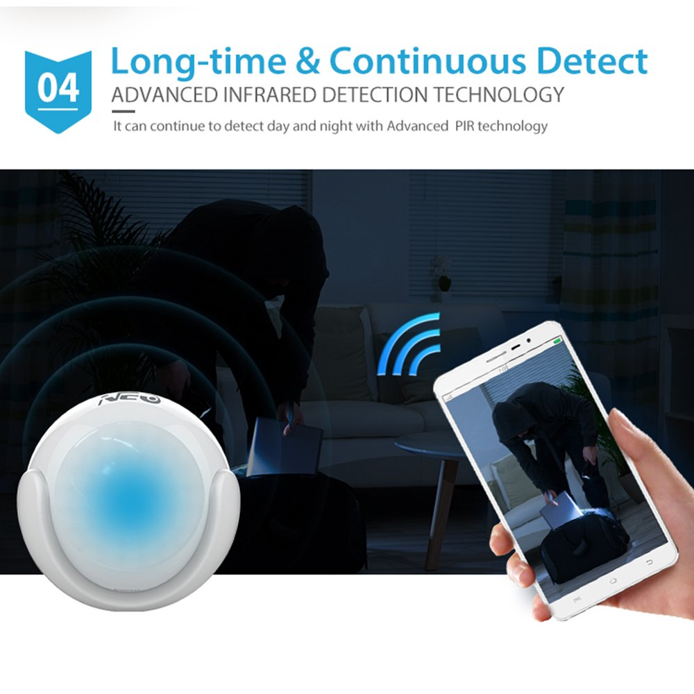 NEO Z-Wave Plus 3-in-1 Motion Sensor Motion Detector Home Automation, Works with SmartThings and Vera by NEO Products (Image #6)