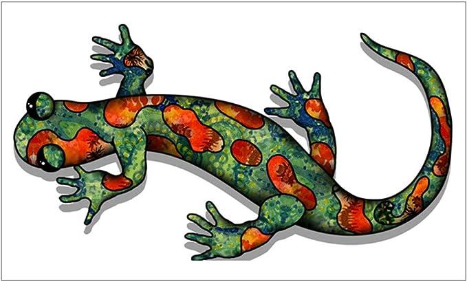 Patterned Lizard Car Bumper Sticker Decal /'/'SIZES/'/'