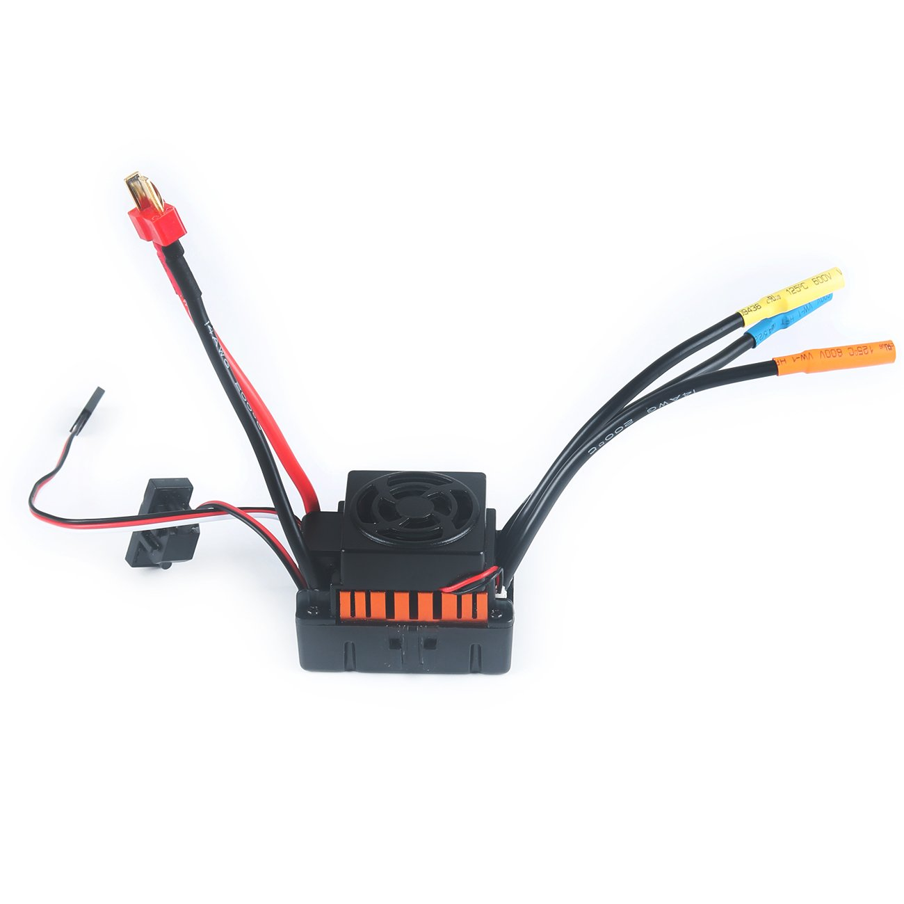 Crazepony-UK F540 3300KV Brushless Motor Waterproof with 45A ESC Electronic Speed Control Combo Set 3.175mm Shaft for 1//10 RC Car Truck by