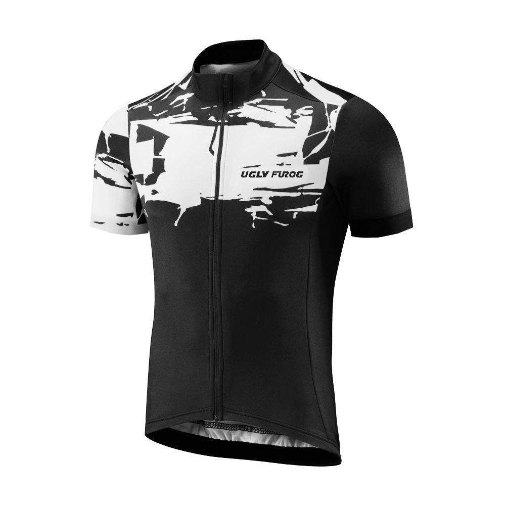 Uglyfrog 2016新作メンズアウトドアスポーツサイクル半袖サイクリングジャージー夏スタイル自転車シャツ自転車トップdx17 Size Large(7-10 Days Production) カラー17 B07FJ75M27