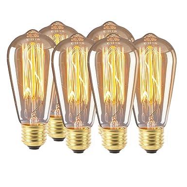 Amazon.com: Miklan Home - Bombilla LED (6 unidades, ST64 ...