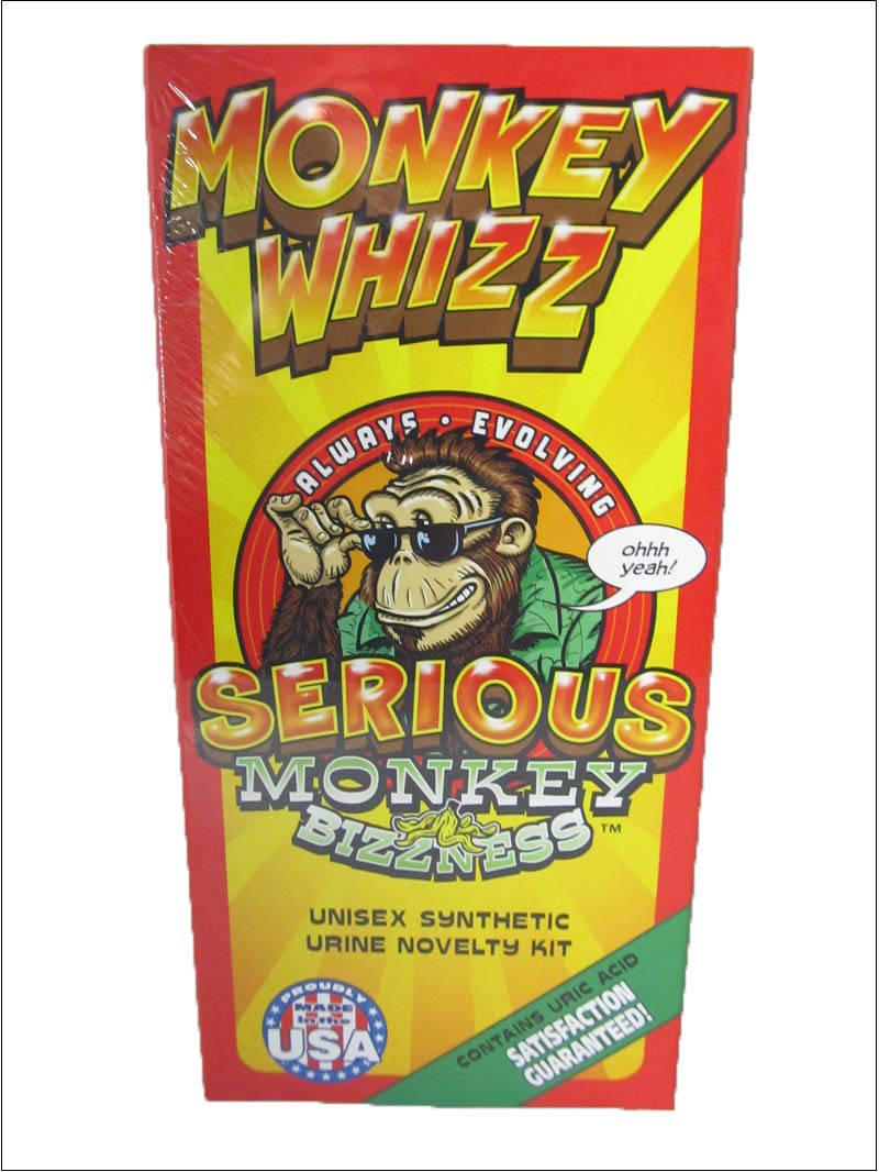 Monkey Whizz with Pouch Test at Home