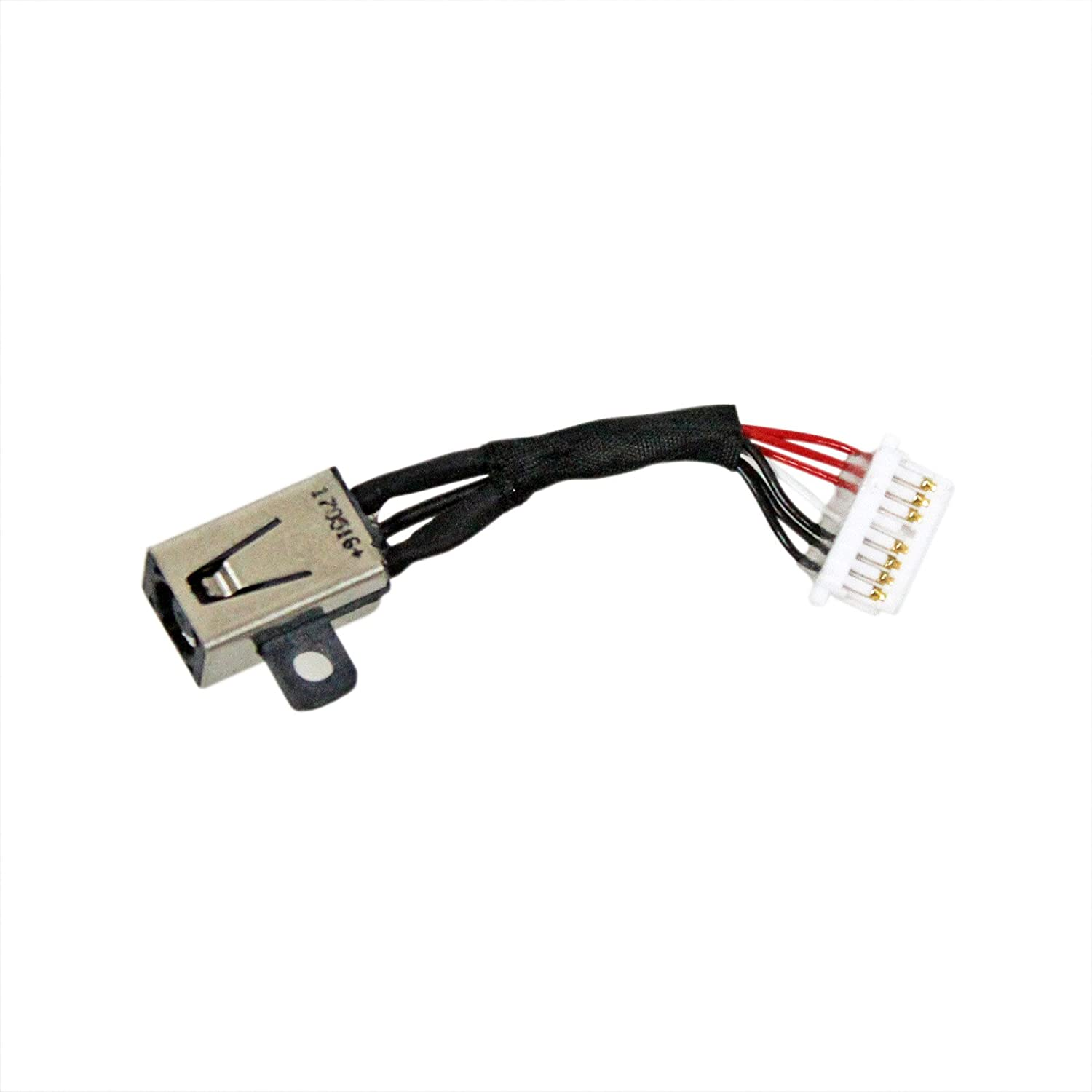 Zahara DC Power Jack Harness Cable Replacement for Dell Inspiron 13 7000 7347 7348 7352 7353 7359 7368 7378 7558 7568 7569 7579 450.07R03.000