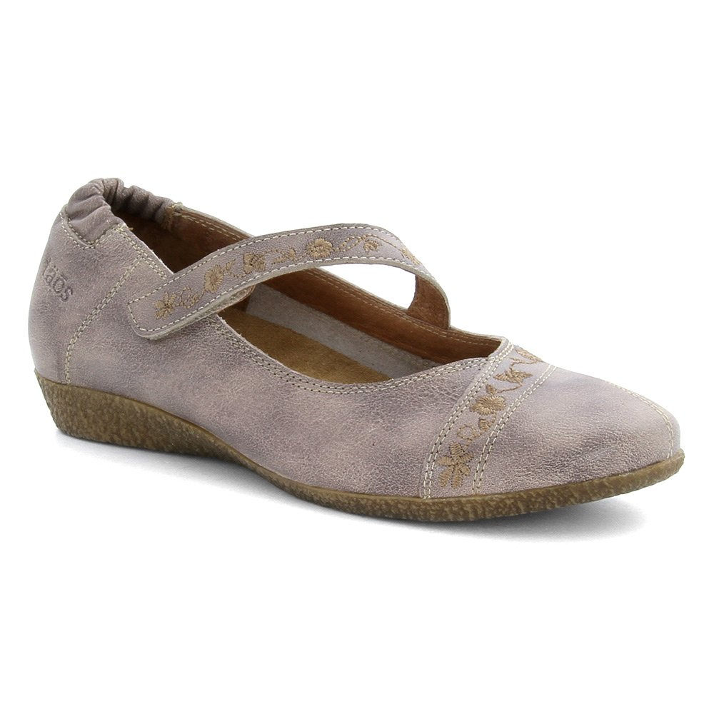 Taos Women's Grace Mary Jane Flat B00TG803HC 37 EU/6-6.5 M US|Stone