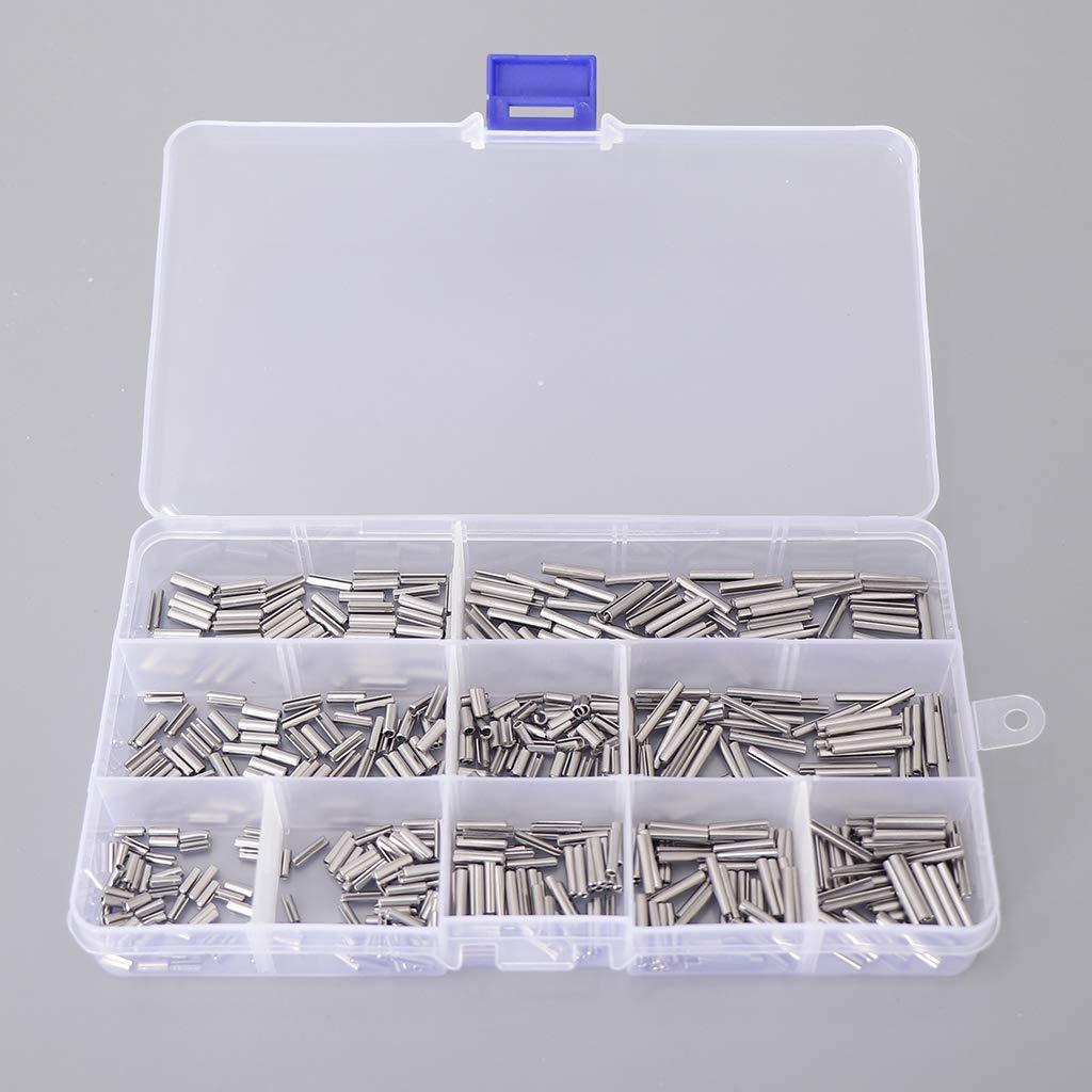 Silber M-3 perfk 1 Box Sortiment Hohlspannstifte Spannstift-Edelstahl Federstifte Sicherungsring Sortimentskasten