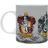 HARRY POTTER - Mug - 320 ml - Les 4 Maisons
