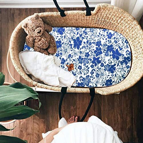 - Floral Moses Basket Sheets, Pram Sheets Girl, Baby Girl Bedding, Bassinet Sheet, Stroller Sheets