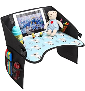 Amazon Com Kids Travel Tray For Car Seat Road Trip Activities For