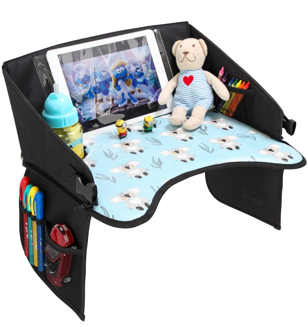 Amazon.com: Kids Travel Tray for Car Seat - Road Trip