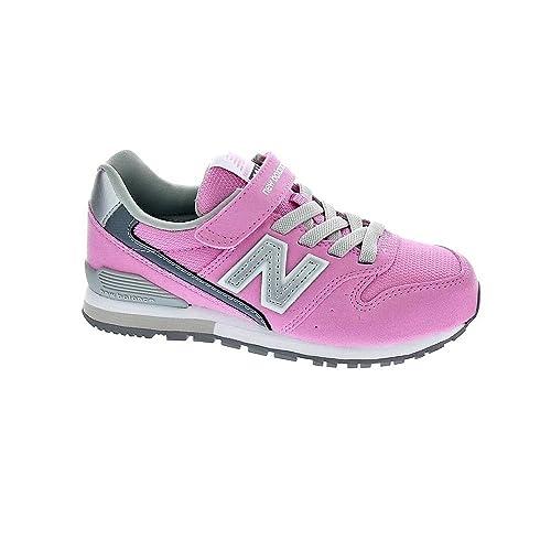 New Balance - Zapatillas de Lona para niña rosa rosa 38: Amazon.es: Zapatos y complementos
