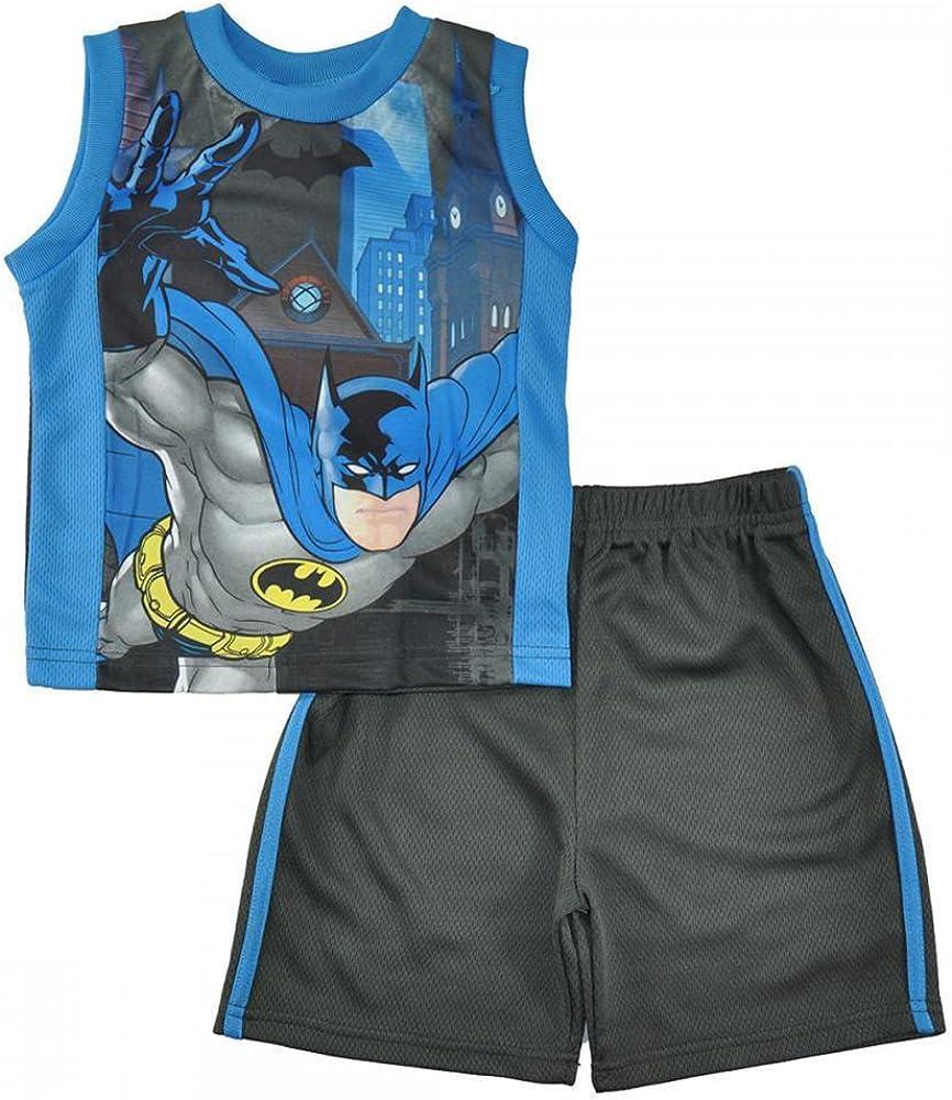 Reebok Boys 3 Piece Athletic T-Shirt and Short Set Tank Top