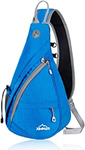 Xboun Sling Backpack Chest Shoulder Bag Crossbody Cycling Travel Hiking Daypack