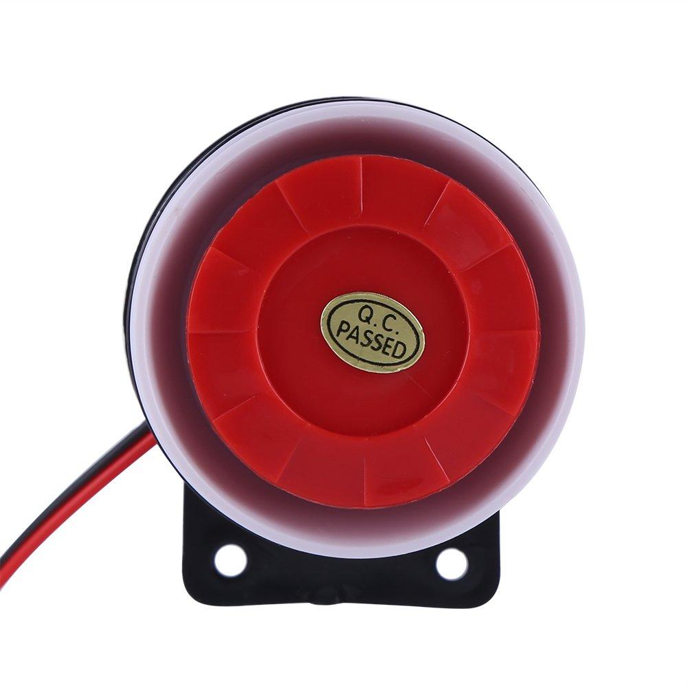 Yosoo DC 12 V Mini sirena regulador sirena de alarma de seguridad sistema de alarma 110dB