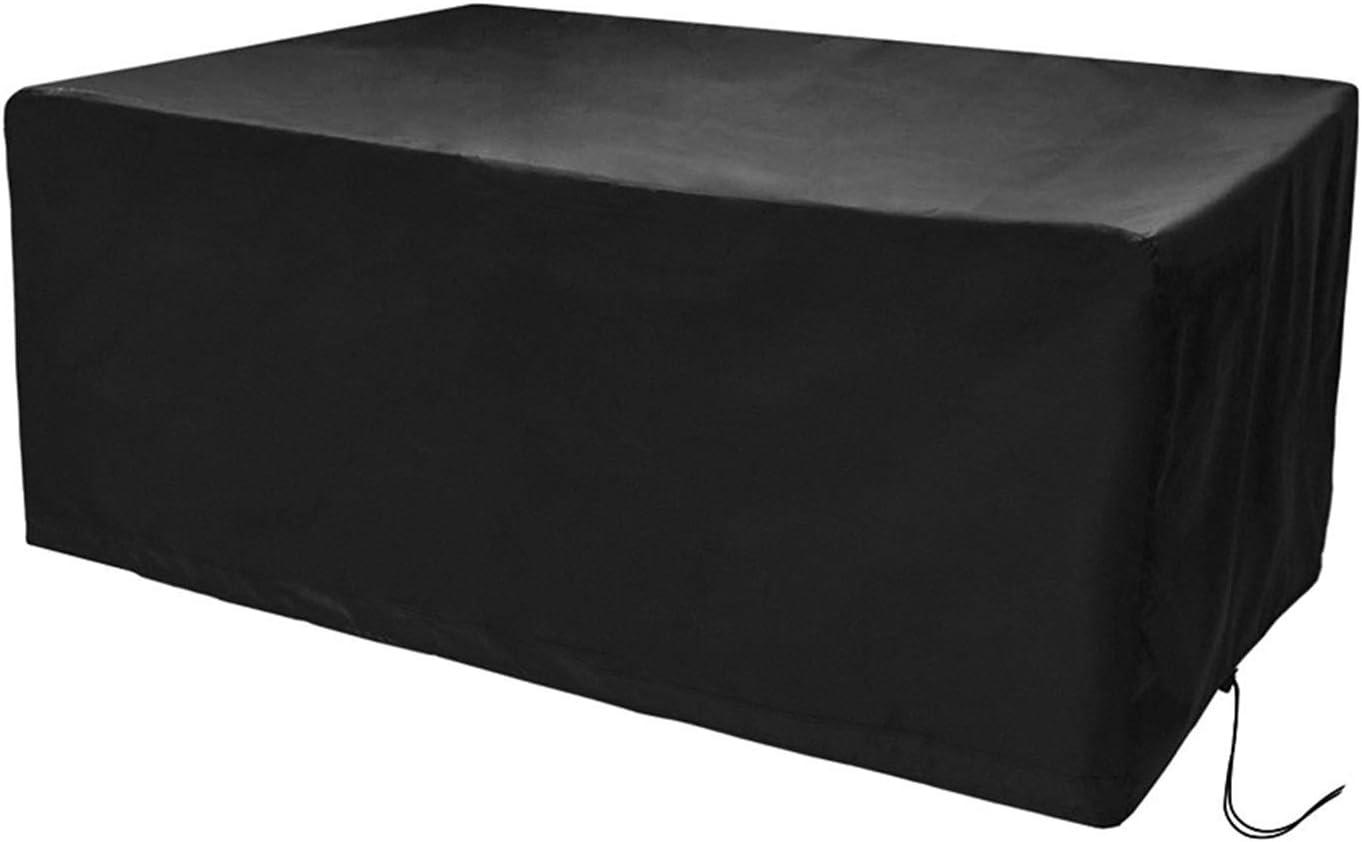 CosyInSofa Funda para Muebles de Jardín, Copertura Impermeable para Mesas Rectangular, Funda Protectora Anti-UV para Patio Muebles Sillas Sofás Mesas Cubierta de Exterior Oxford (170x94x70cm)