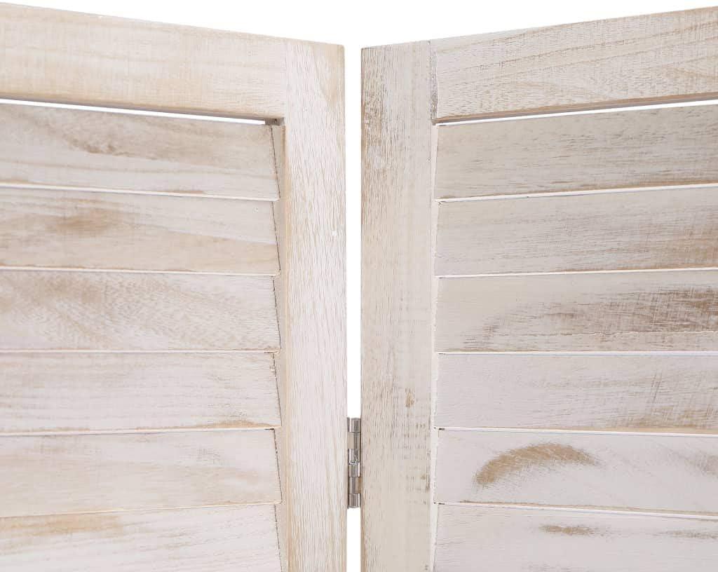 Tidyard Biombo de 6 Paneles Madera con Ranuras de ventilación 210x165 cm: Amazon.es: Hogar