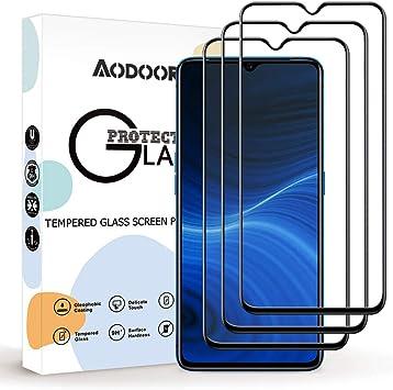 Aodoor Protector Pantalla Realme X2 Pro, [3 Pack] [9H Dureza ...