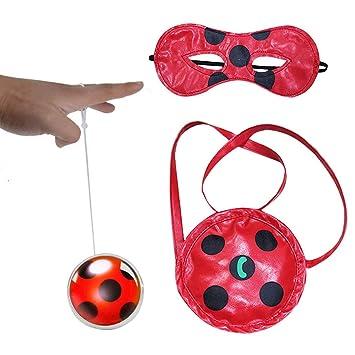 Geenber Miraculous Ladybug Yo-Yos Ball Toy Set para niños ...