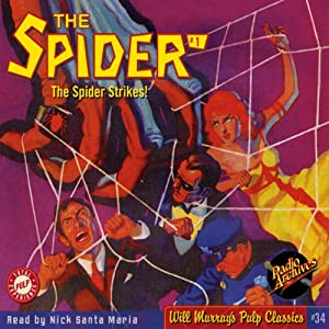 Spider #1 October 1933 (The Spider) Audiobook