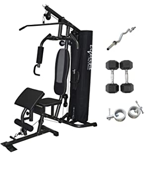 Lifeline home gym equipment all in one hg bundles with e z bar