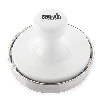 Amazon.com: BBQ-Aid - Prensa para hamburguesas, para cocinar ...