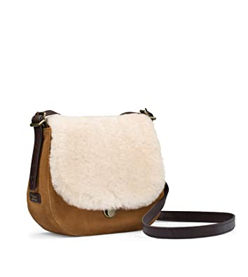 90ce7617e6c New UGG Women's Heritage Crossbody Bag Chestnut Suede One Size ...