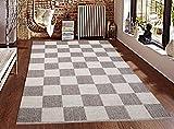 Saral Home Soft Cotton Handloom Made Multi Purpose Floor Rugs -140x200 cm