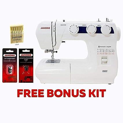 Amazon Janome 40 Sewing Machine With Kit Enchanting Janome Sewing Machine Starter Kit