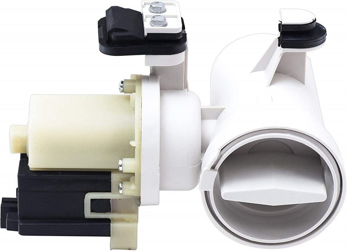 W10130913 Washer Drain Pump, compatible with Whirlpool Kenmore Maytag Washer 8540024, W10130913, AP4308966, PS1960402,W10117829 by Lucky Seven