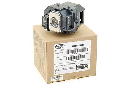 Alda PQ Profesional, Lámpara de proyector para EPSON H369A ...