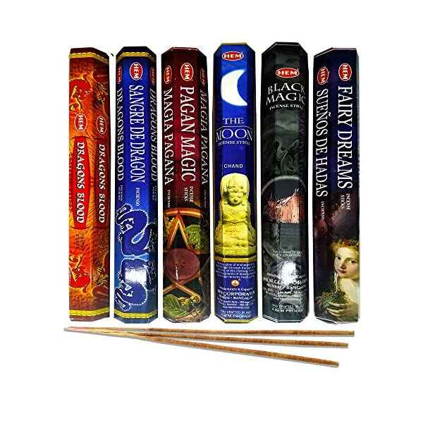 AurAmbiance Pagan Magic Incense Sticks Set