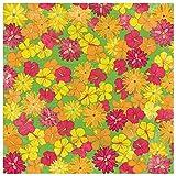 Karen Foster Design Scrapbooking Paper, 25 Sheets, Tropical Flowers, 12 x 12''