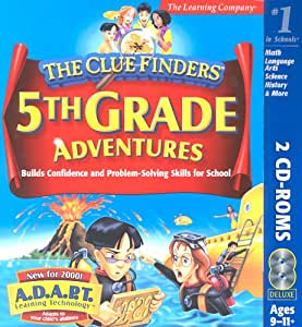 Amazon.com: ClueFinders 5th Grade: Software