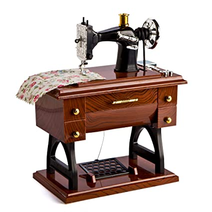 Amazon LatestBuy Animated Sewing Machine Musical Box Home Simple Animated Sewing Machine