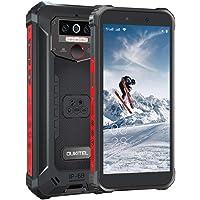 OUKITEL WP5PRO-4G Outdoor mobiele telefoon, 5.5 inch 8000 mAh batterij Helio A25 4 GB + 64 GB smartphone zonder contract, IP68 13 MP+2 MP + 2 MP robuuste smartphones, Android 10.0, triple camera, gezichtsherkenning, WP5pro-zwaar.