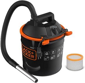 Black+Decker BXVC20TPE Aspirador de Cenizas (900 W, 18 l) con ...