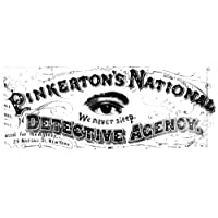 Allan Pinkerton (1919-1884) Namerican (Scottish-Born) Detective Detail Of The Stationary Logo For PinkertonS National Detective Agency With Offices In New York Philadelphia And Chicago Poster Print by
