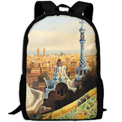 SZYYMM Custom Made Oil Unique Architecture Oxford Cloth Fashion Backpack,Travel/Outdoor Sports/Camping/School, Adjustable Shoulder Strap Storage Backpack For Women And Men best