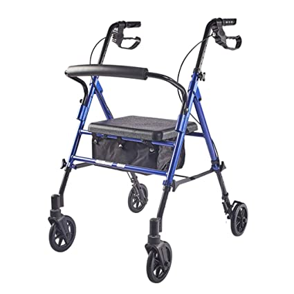 Amazon.com - Walkers Wheelchair Elderly Walker Shopping Cart ...