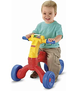 Amazon.com: Fisher-Price Brilliant Basics roll-along Musical ...