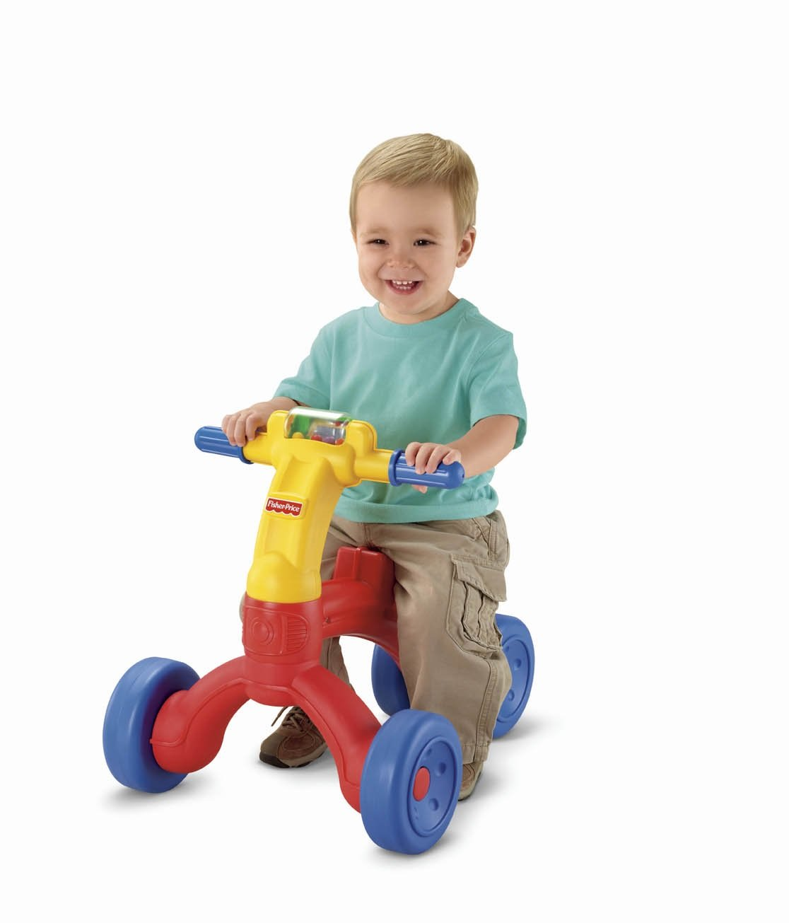 Amazon.com: Fisher-Price Bright Beginnings Ready Steady Trike: Toys ...