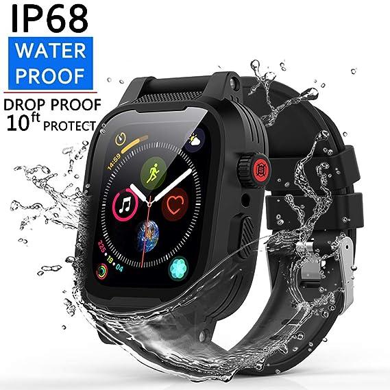 Amazon.com: AIUERU - Funda impermeable para Apple Watch ...